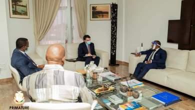 La visite de courtoisie de SEM Christian Font Calderon au palais de la Colombe