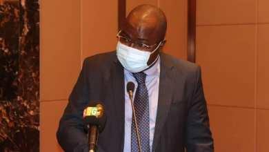 le Ministre KABA