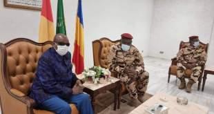 Le président Alpha Condé est bien arrivé à N'Djamena