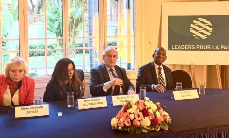Agenda géostratégique mondial Kabine Komara et ses Collègues de la Fondation_des Leaders pour la Paix sont en conclave.