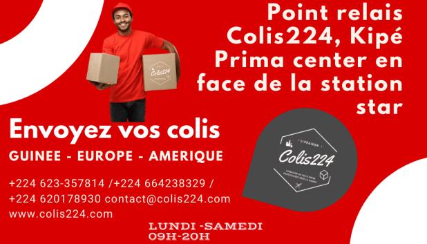 Point relais Colis224, Kipé Prima center.