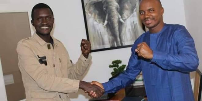 Sekou koundouno et Ibrahima Diallo