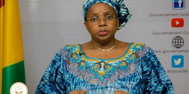Dr Zalikatou Diallo Ministre de la Citoyenneté et de l'Unité Nationale