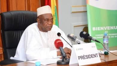 le Président Amadou Damaro Camara président de L'assemblée nationale