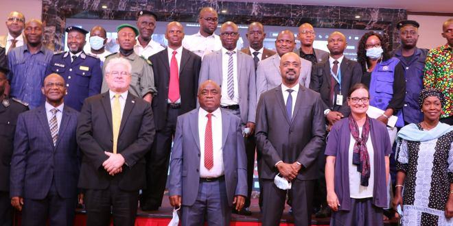 cérémonie de validation des documents organiques de l'Office National de la Protection Civile