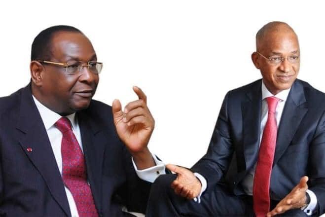 Cellou Dalein Diallo et Lansana Kouyaté