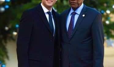 Macron et Alpha Condé