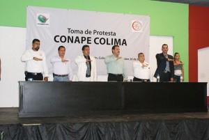Raúl González Nova, Presidente Nacional e Internacional de CONAPE toma Protesta a estructura en Colima (3)