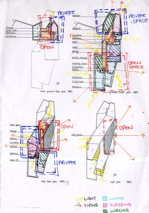 house diagram floor plan