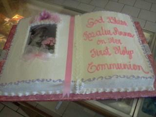 Cakes For Christenings Communion And Confirmation Conca