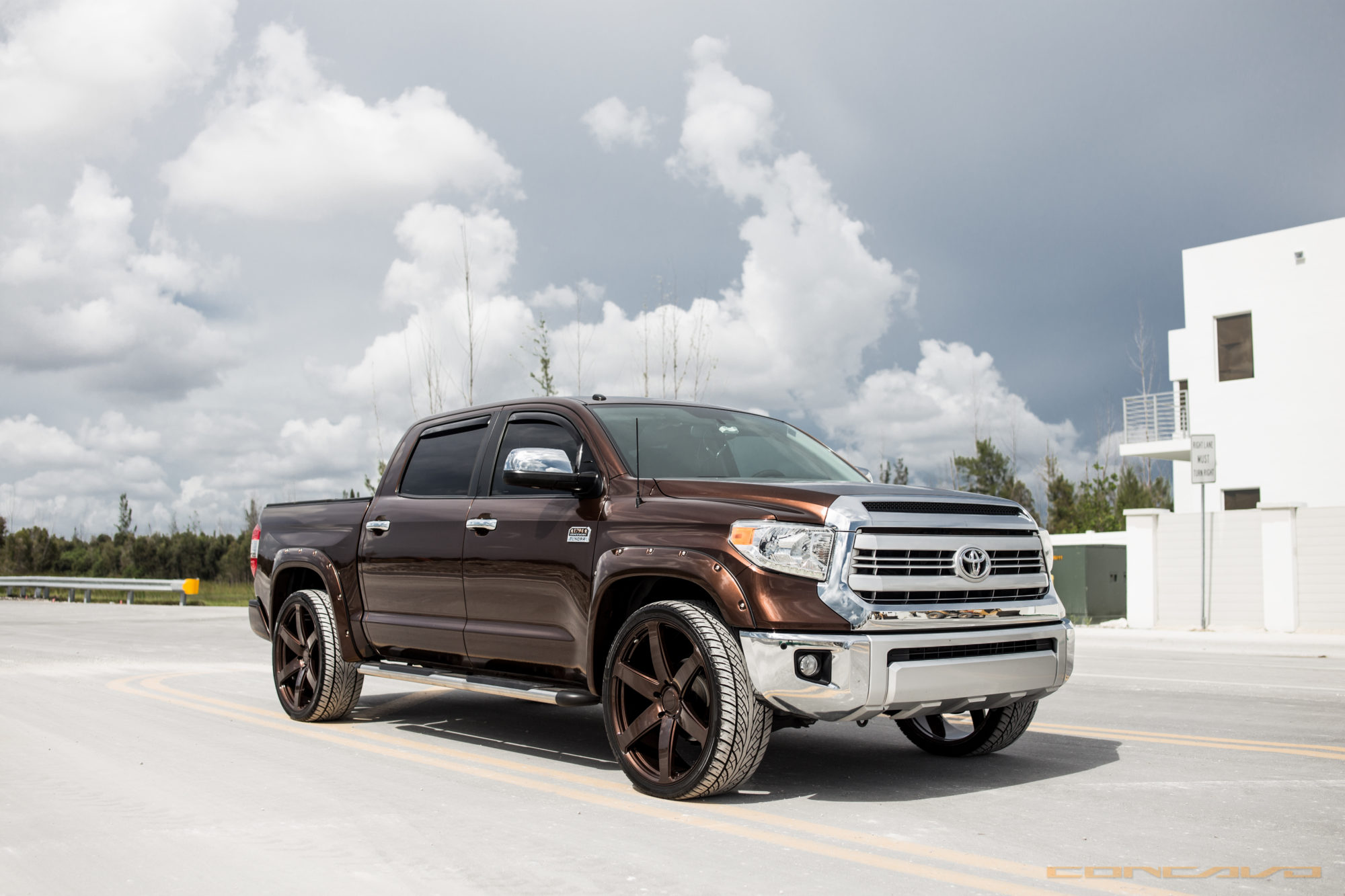 Toyota Tundra On Color Matching 26 Cw 6 Concavo Wheels