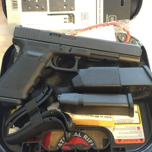 Glock 40 MOS Unboxing