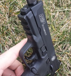 other features of the m p 22 compact include and 1913 rail reversible magazine release ambidextrous manual thumb safety and a interior trigger lock  [ 1200 x 2133 Pixel ]