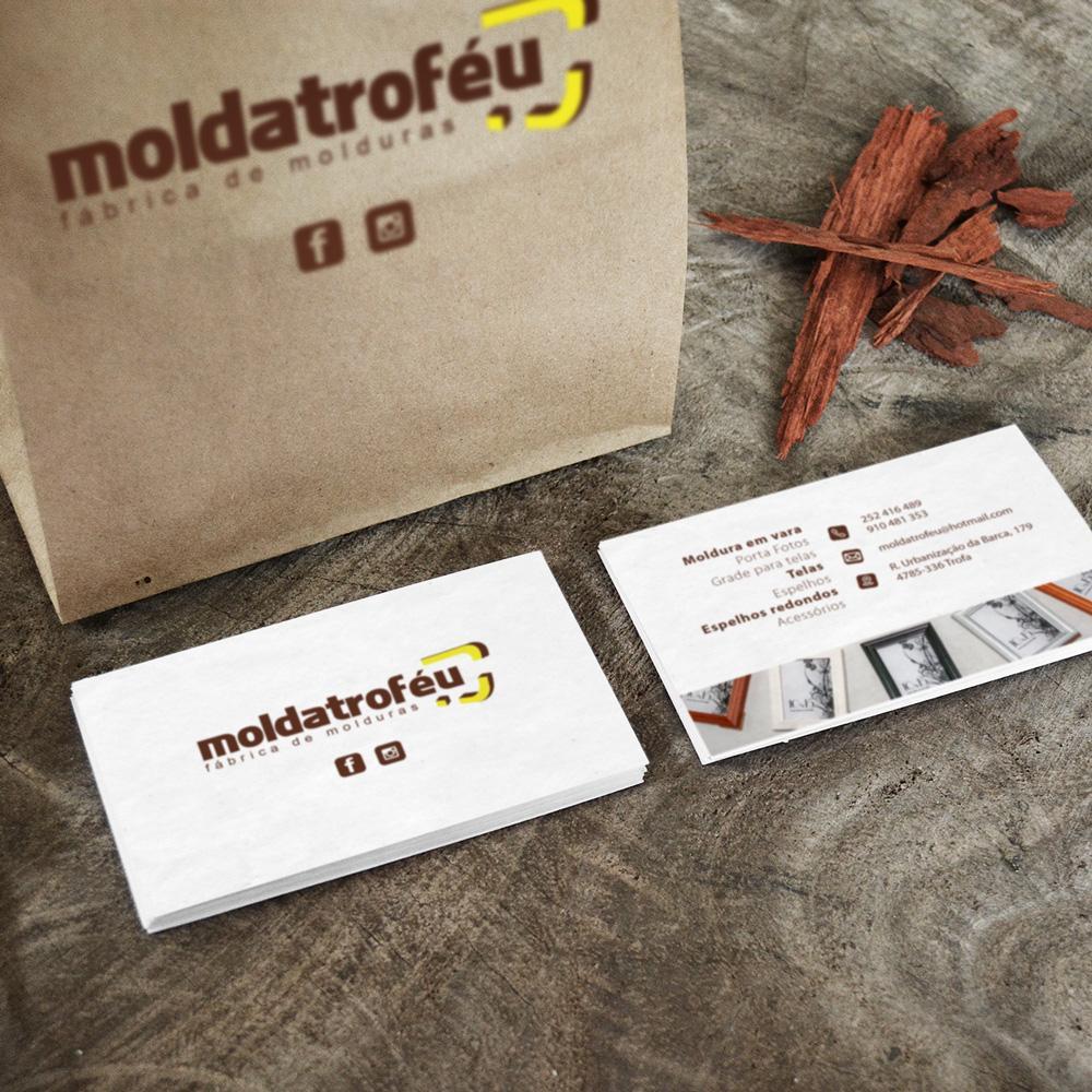Cartão comercial - Moldatrofeu