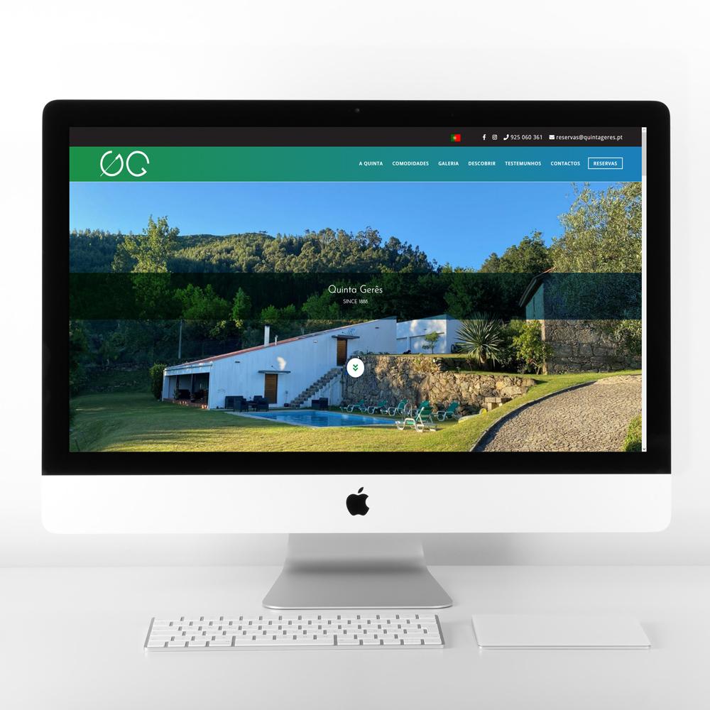 Website Quinta Gerês