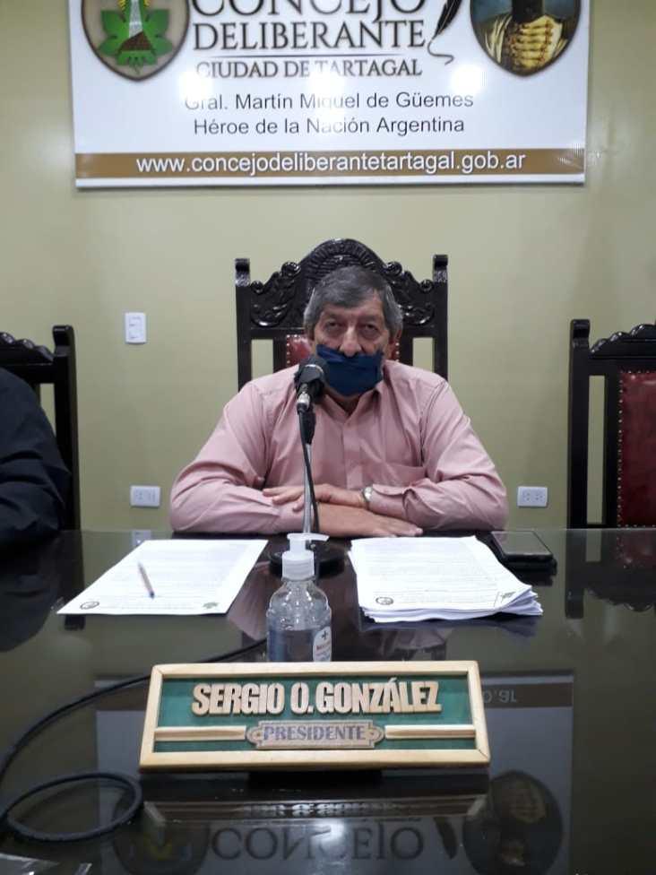Concejal Sergio Gonzalez
