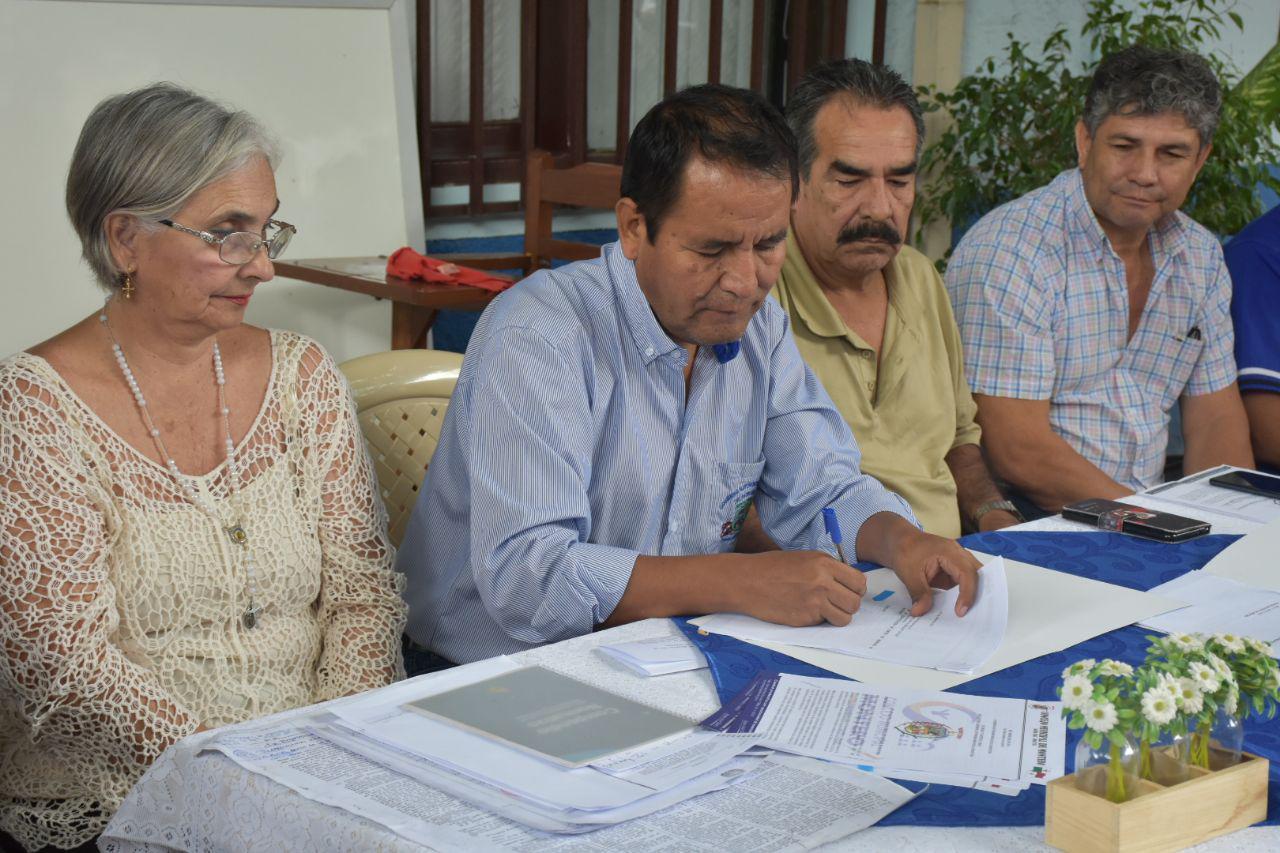 El ejecutivo del Gobierno Municipal de Montero promulgó la Ley Nº 201