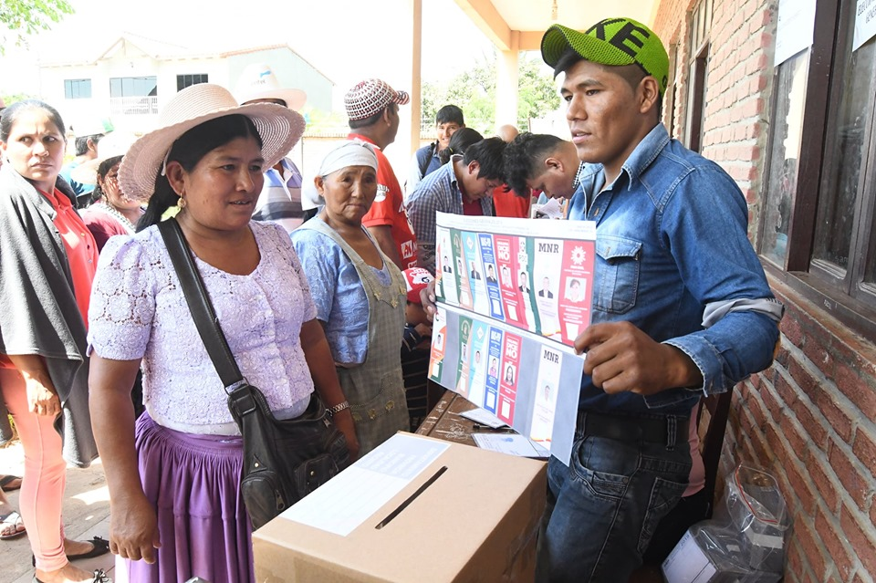 Montero Elecciones generales Bolivia