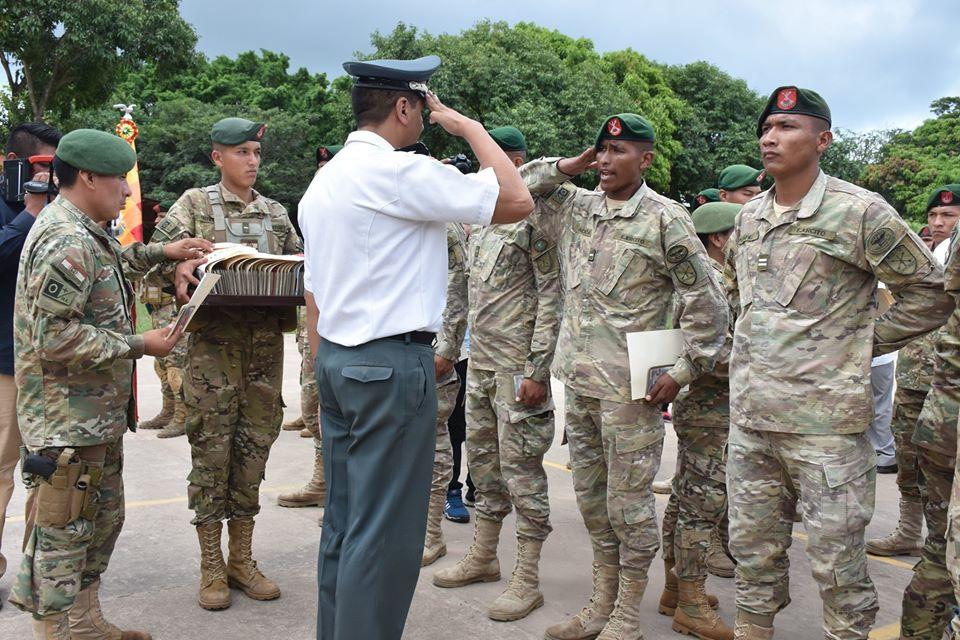 Licenciamiento soldados del 1er. Escalón categoría./19.