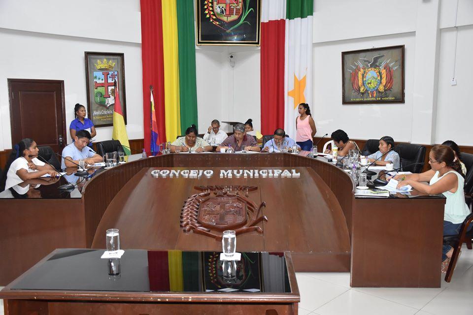 Primera reformulación del POA y presupuesto municipal gestión 2020 fue aprobado en la sesión de hoy.