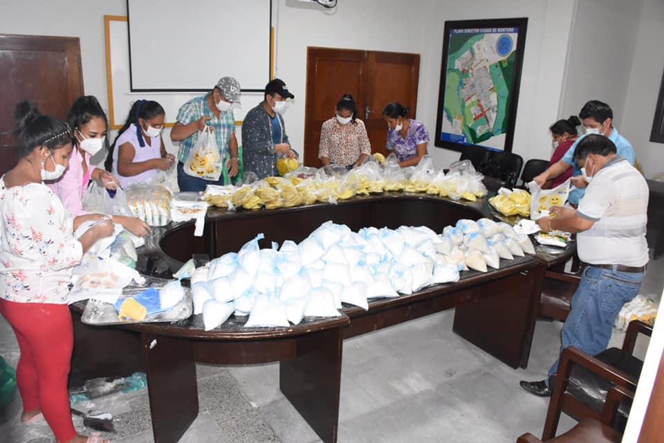 Concejales entregarán 5000 kilos de víveres entre Arroz, Fideo, Harina, Azúcar y Sal a las familias necesitadas afectados por cuarentena en Montero.