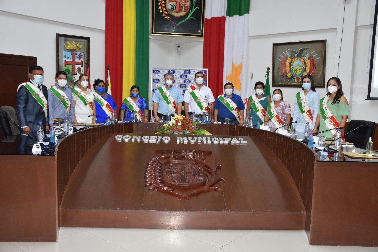 En Sesión de Honor el Concejo Municipal confirió el Honor Póstumo a ciudadanos destacados que impulsaron el desarrollo de Montero y que ofrendaron su vida en cumplimiento de sus labores en esta pandemia.