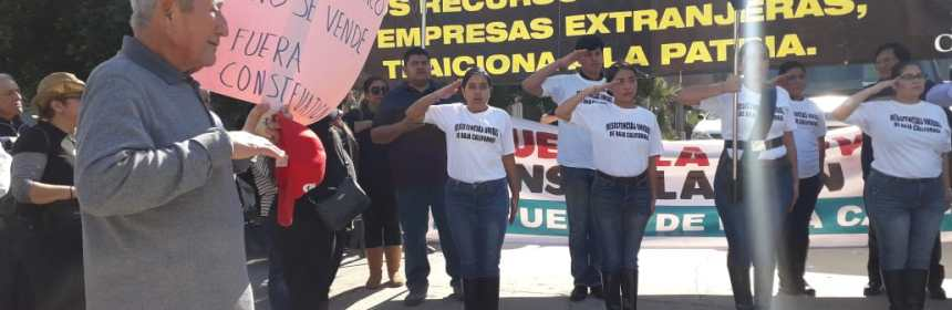 "agua Constellation Brands - ""¡Mi agua no se vende!"" claman en BC al reactivar protestas contra Constellation Brands - #Noticias"