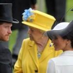 """Meghan Harry reina 1 - """"Los insultados fuimos nosotros"""": El enojo de Meghan Markle por los castigos la reina Isabel - #Noticias"""