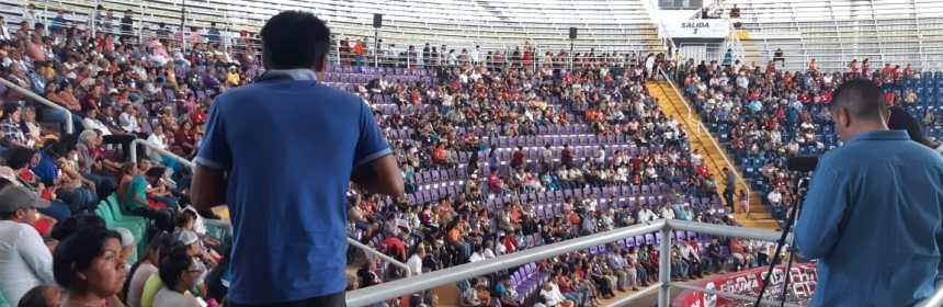 RSP colima megapalenque - Sin la presencia de Elba Esther Gordillo, las RSP logran conformar asamblea en Colima para ser partido político - #Noticias