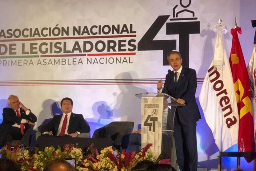 """Zapatero - La Cuarta Transformación es """"un renacimiento de México"""": Rodríguez Zapatero - #Noticias"""