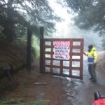 cerrado paso al nevado - Continúa cerrado el acceso al Parque Nacional Nevado de Colima, informa PC Jalisco - #Noticias