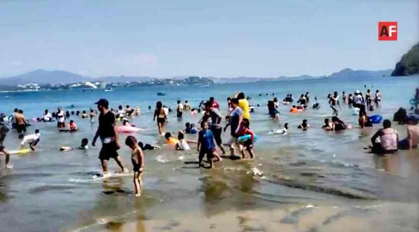 AFmedios Playa La Boquita de Miramar Manzanillo 3 - Playas en Manzanillo registran buena afluencia de turistas