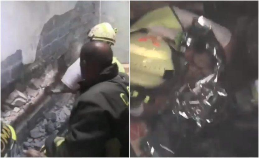 Bebe rescatada - Procesan a mujer que arrojó a su bebé entre los muros de dos casas - #Noticias