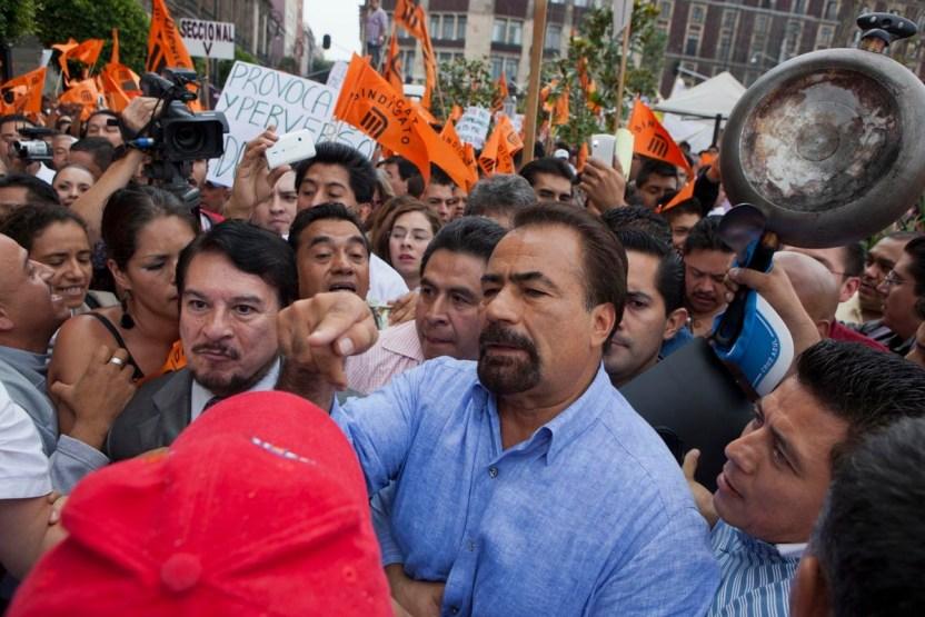 Espino Metro - El poder de Fernando Espino, líder del sindicato del Metro