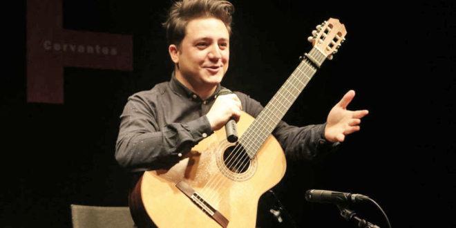 Gian Marco Ciampa en la Pinacoteca Universitaria 660x330 - Gian Marco Ciampa y su guitarra, en la Pinacoteca Universitaria – Archivo Digital Colima - #Noticias