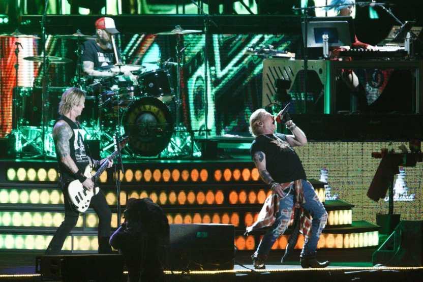 Guns N Roses - Guns N' Roses cierra el primer día del Vive Latino 2020 (Fotos + videos)