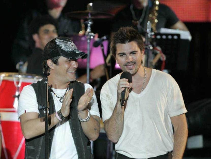 Juanes y Alejandro Sanz - Juanes y Alejandro Sanz desafían al coronavirus con concierto en Miami