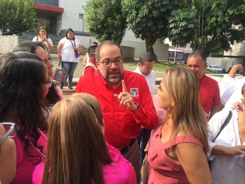 Nacho Peralta PRI - Manifestaciones se dan por la insensibilidad de algunos representantes populares y jefes de gobierno: Peralta - #Noticias