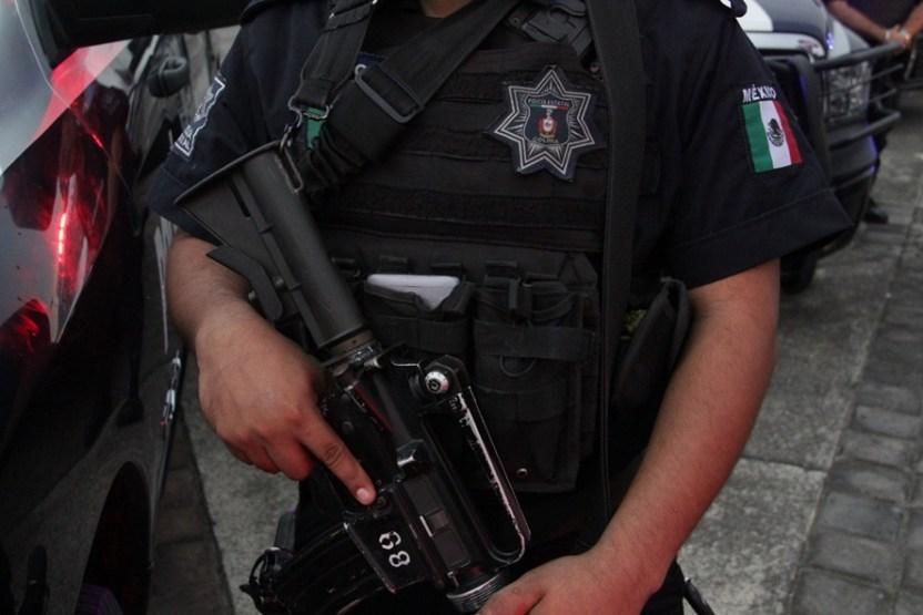 Policía Estatal - Policía Estatal captura a un sujeto por portación de arma - #Noticias
