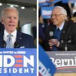 Sanders - Biden coloca a Sanders al borde del retiro de la contienda demócrata - #Noticias
