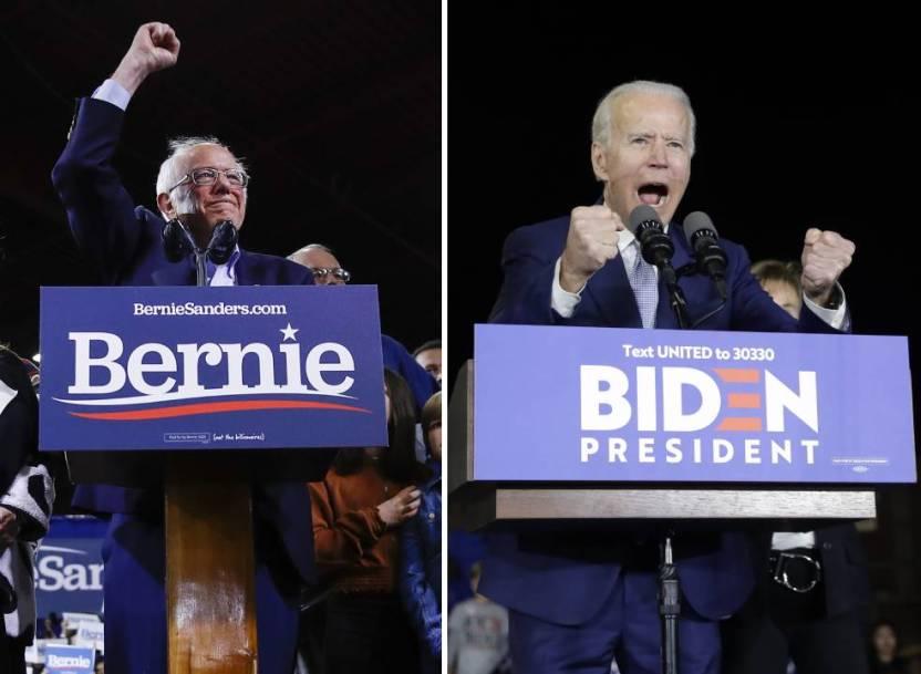 Supermartes 1 - Supermartes define a Biden y Sanders como los aspirantes a enfrentar a Trump - #Noticias
