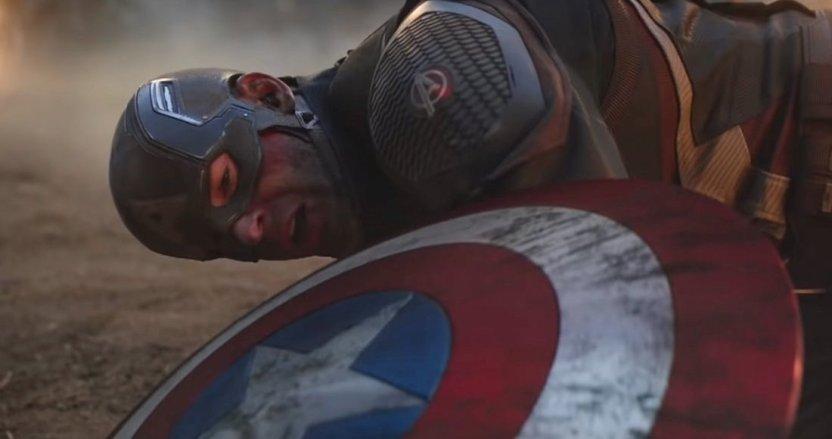 capitan america - Fan de Marvel comparte concept art de Thanos haciendo añicos el escudo de Capitán América en Endgame