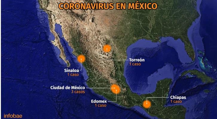coronavirus en mexico - Los efectos del Covid-19 en la economía mexicana; van siete casos confirmados - #Noticias