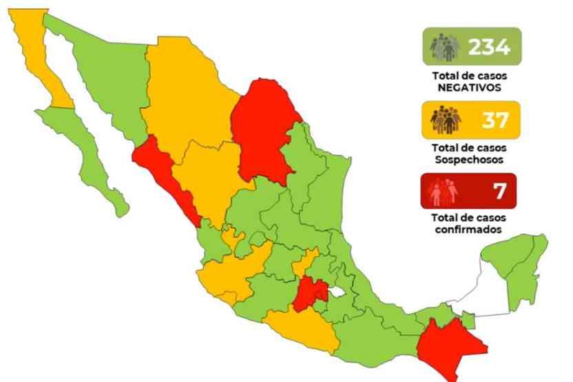 coronavirus mexico 10demarzo - 113 mil 702 casos de COVID-19 en el mundo; en México se mantienen 7 - #Noticias