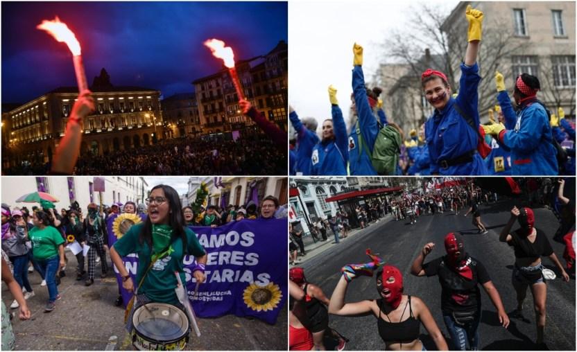 dia internacional mujer 3 - La ola feminista muestra su fuerza en el mundo (FOTOS) - #Noticias