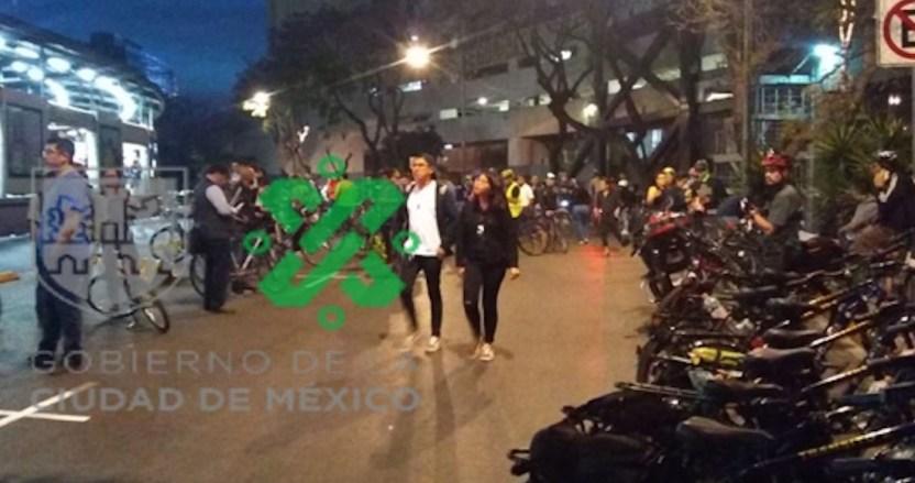 eszatz7u0aa1cjj - Ciclistas protestan en Insurgentes, CdMx, para exigir seguridad vial; bloquean la circulación - #Noticias
