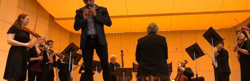 """horacio franco - Horacio Franco, flautista mexicano, da positivo a prueba de COVID-19; """"quédense en sus casas"""", dice"""