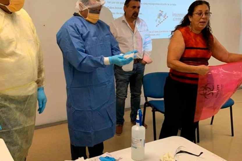 preparados salud coronavirus 01 - Salud Colima ha agudizado protocolos de sanidad internacional por COVID-19 - #Noticias