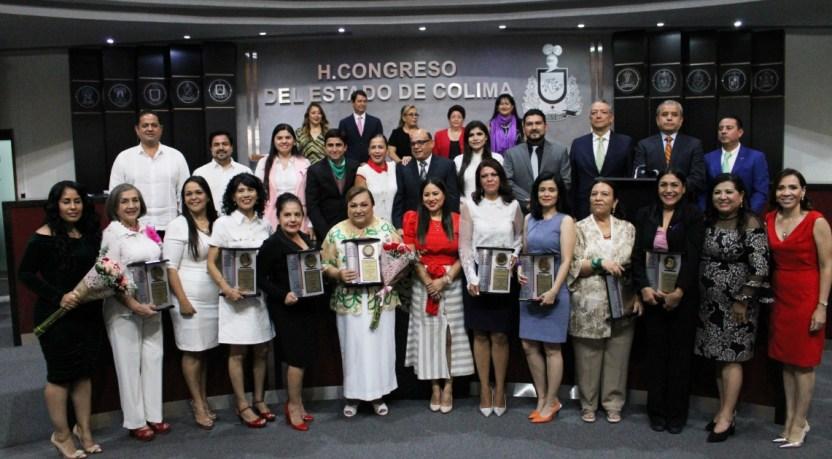preseas a mujeres en Colima - Congreso entregó Preseas a mujeres destacadas de la entidad - #Noticias