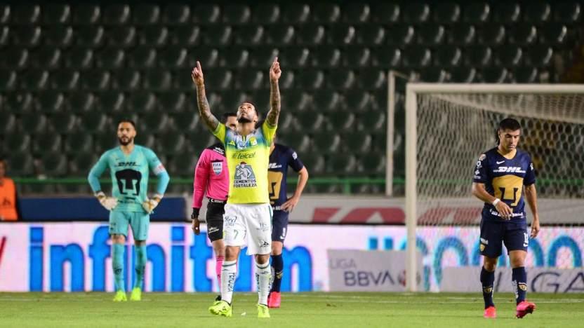 pumas vs leon 1 - La LIGA MX suspende todos los partidos por COVID-19